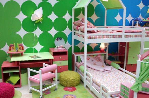 Дизайн детской для двух маленьких детей