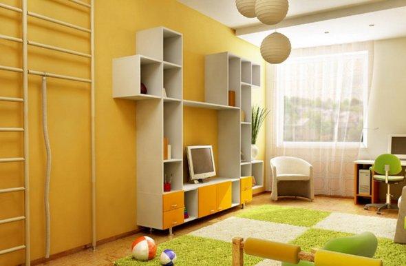 Фото дизайна комнаты для детей.