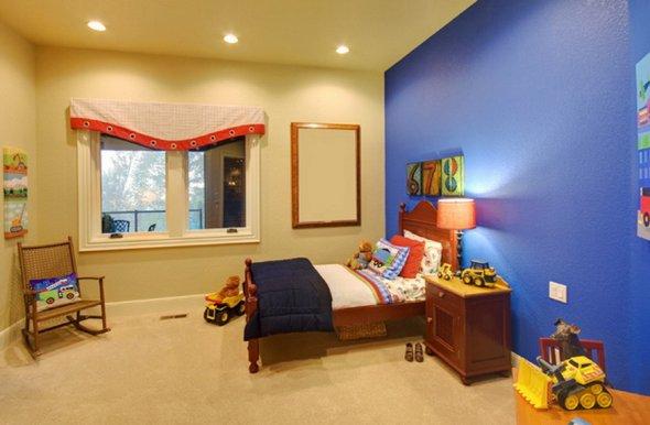 Дизайнерские решения для комнаты.