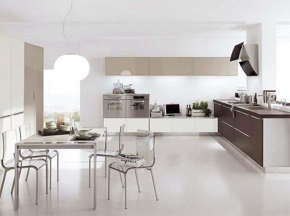 Оформление кухни на фото.