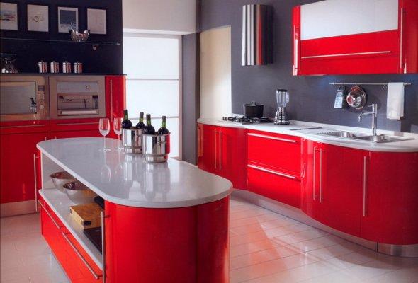 Еще вариант дизайна для кухни.
