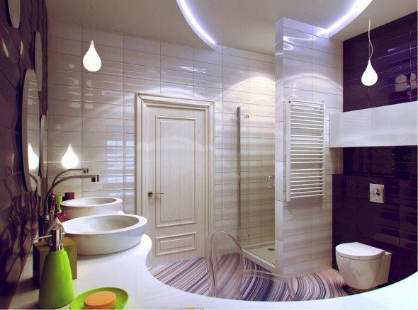 Фотография ванной комнаты.