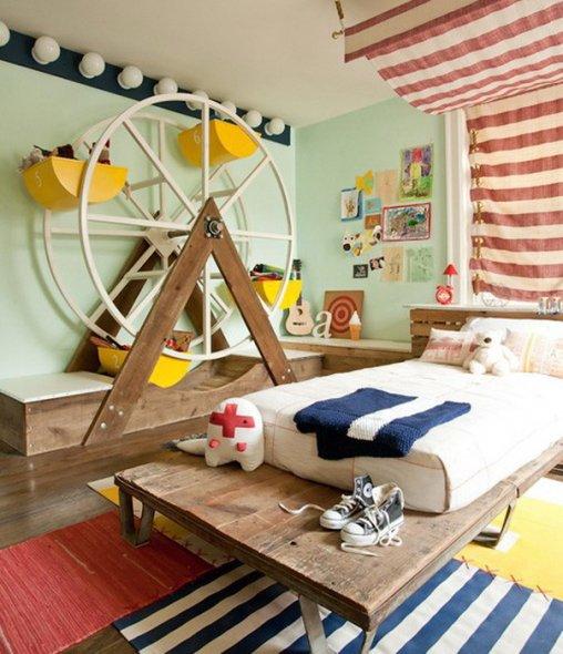 Игрушки в интерьере детской комнаты