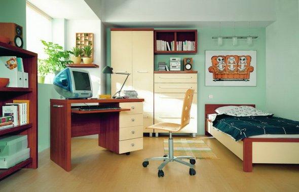 Расстановка мебели в комнате для ребенка
