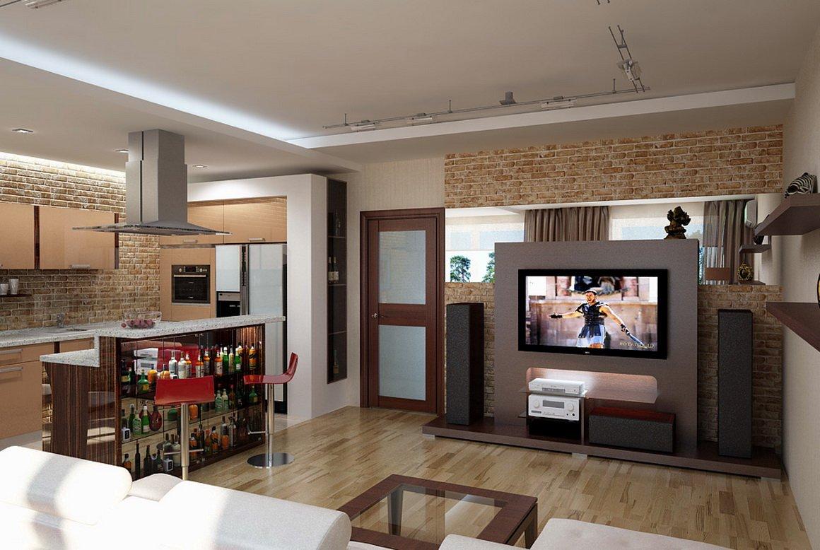 100 модных новинок Дизайн и ремонт маленькой кухни