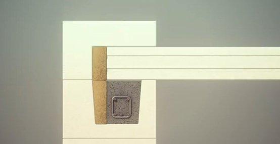 Крепление перекрытий к стенам из газобетона