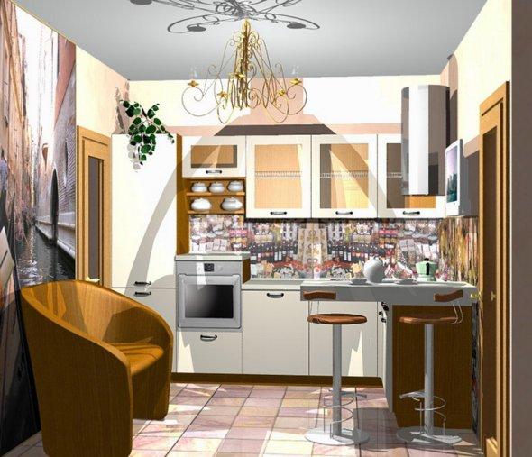 Разработка дизайнов для кухни
