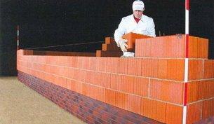 Кладка углов стен из керамических блоков