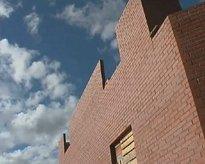 Здание из керамических блоков