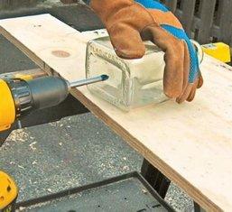 Как резать, шлифовать и сверлить стекло