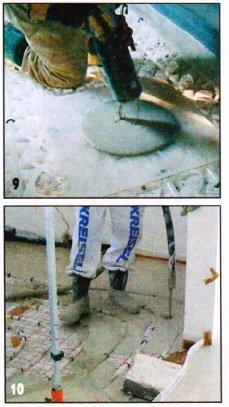 Подготовка к укладке наливного пола