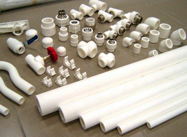Полипропиленовые трубы и их соединения