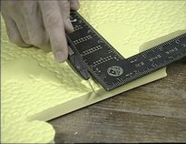 Обрезка мягкой плитки