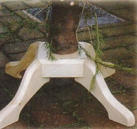Подставка для елки из дерева