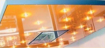 Стекло на потолке