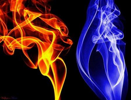 Пламя газовой горелки бывает разноцветным