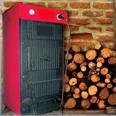 Котел работающий на дровах