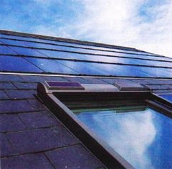 Расположение солнечных панелей