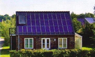 Отоление дома солнечной энергией