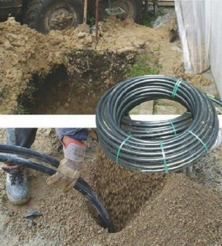 Монтаж скважины для теплового насоса