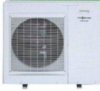 Воздушный теплообменник теплового насоса