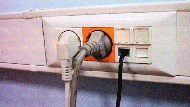 Розетки для открытой элеткропроводки