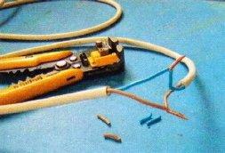Скрутка на электрических проводниках