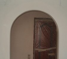 Готовая арка из гипсокартона