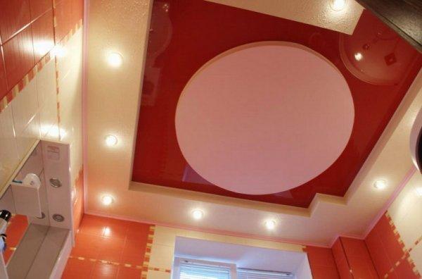 Фото натяжной потолок