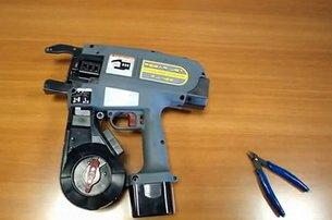 Как работает автоматический вязчик арматуры