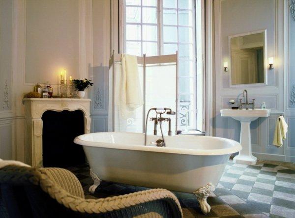 Фото светлой ванной комнаты