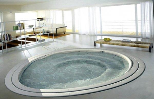 Необычные ванные. Интерьер