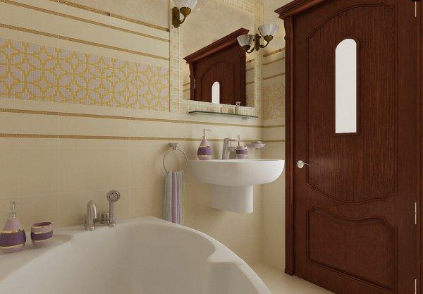 Элементы дизайна в ванной комнате