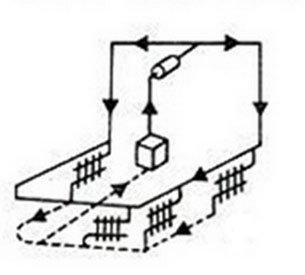 схема отопления для дома