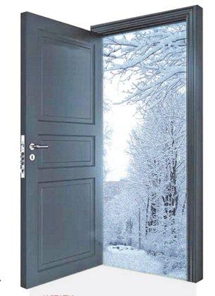 Выбираем утепленные двери