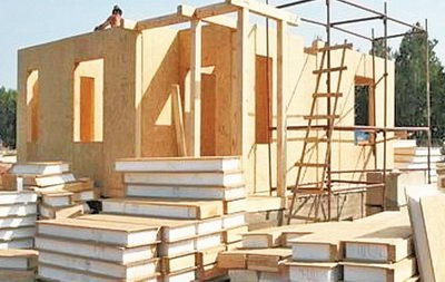 Строительство дома из сендвич-панелей
