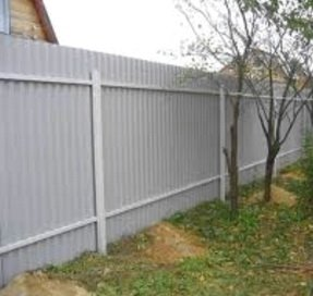 Строим простой забор