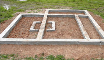 Фундамент на пучащей почве