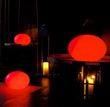 Цветовое оформление светодиодными светильниками