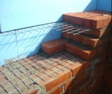Армировка стен сеткой