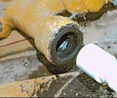 Стыковка с чугунной канализационной трубой