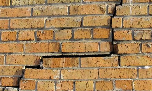 Треснула стена, так как не фундамент