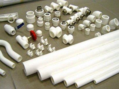 Пластиковый трубпоровод для дома