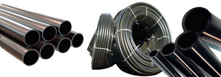 Трубопровод ПНД для наружного водопровода