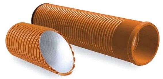 Гофрированные трубы из полиэтилена