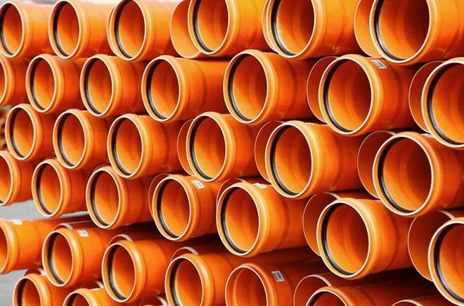 Трубы для наружной канализации. Поливинилхлорид