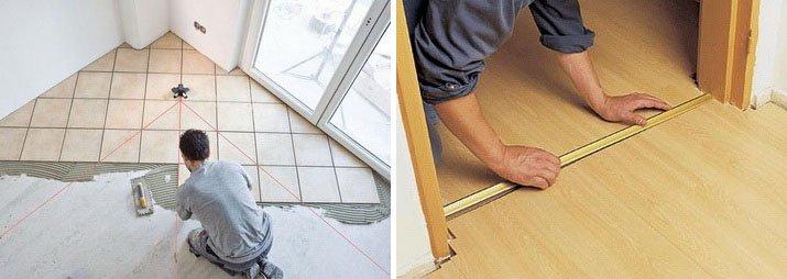 Покрытие бетонного пола можно сделать и своими руками