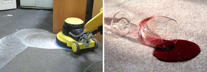 Чистка ковролина - важный процесс