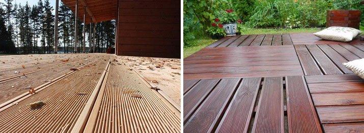 Чем можно покрыть пол на террасе – обзор покрытий