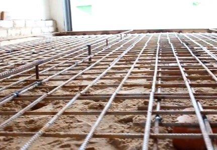 Армировка бетона должна вестись с помощью стальной арматуры